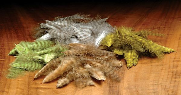 Grizzly Marabou Feathers Fly Tying