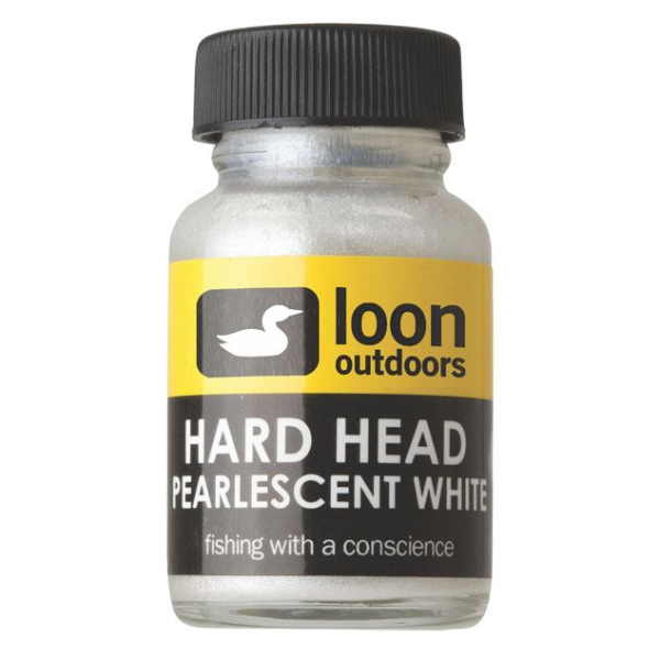 Loon Hard Head Pearlescent White