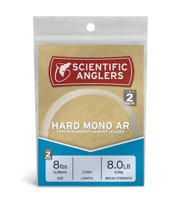 Scientific Anglers Hard Mono AR Leaders 9