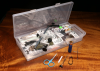 Hareline Fly Tying Material Kit with Premium Tools & Vise