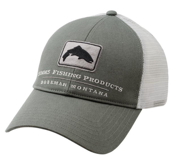 Simms Trout Trucker Olive