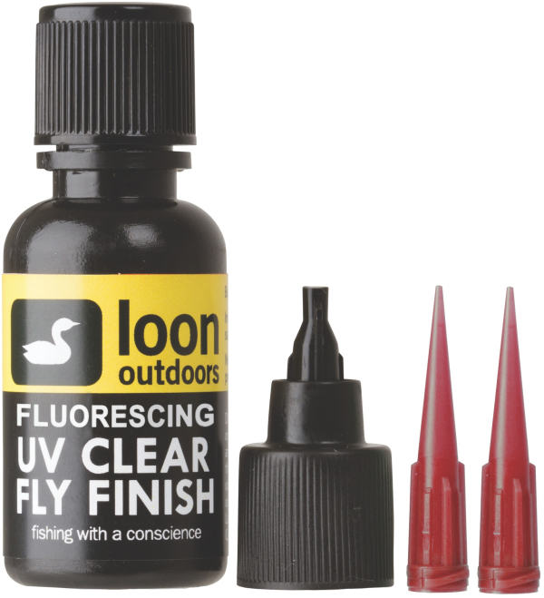 Loon UV Fluorescing Clear Fly Finish