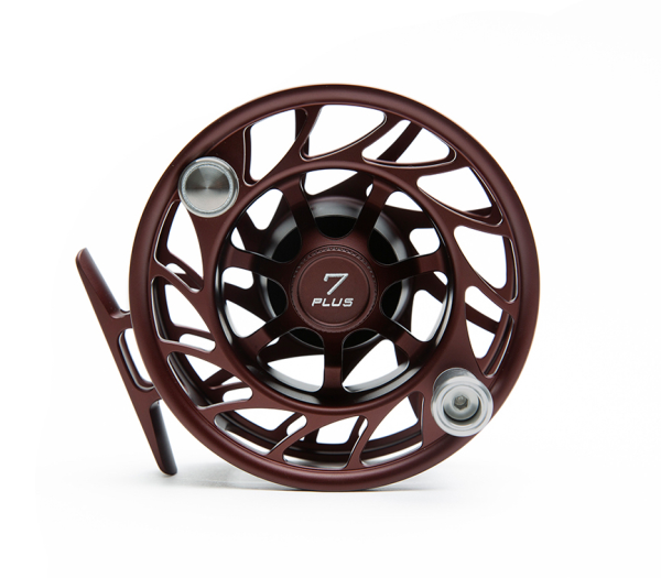 Hatch Gen 2 Finatic Fly Reel Custom Shop Oxblood In Stock For Sale 2