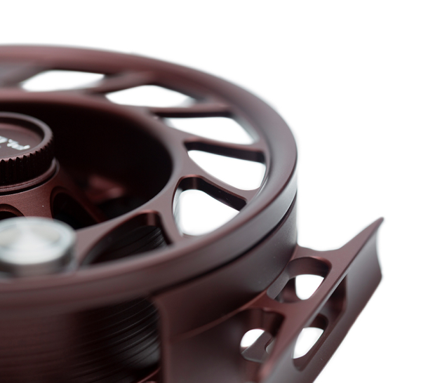 Hatch Gen 2 Finatic Fly Reel Custom Shop Oxblood In Stock For Sale 3