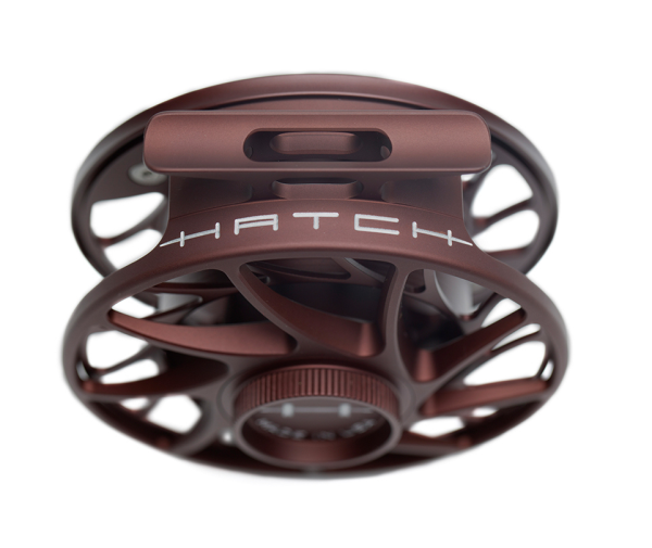 Hatch Gen 2 Finatic Fly Reel Custom Shop Oxblood In Stock For Sale 4
