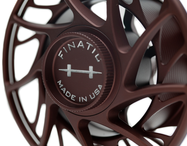 Hatch Gen 2 Finatic Fly Reel Custom Shop Oxblood In Stock For Sale 6