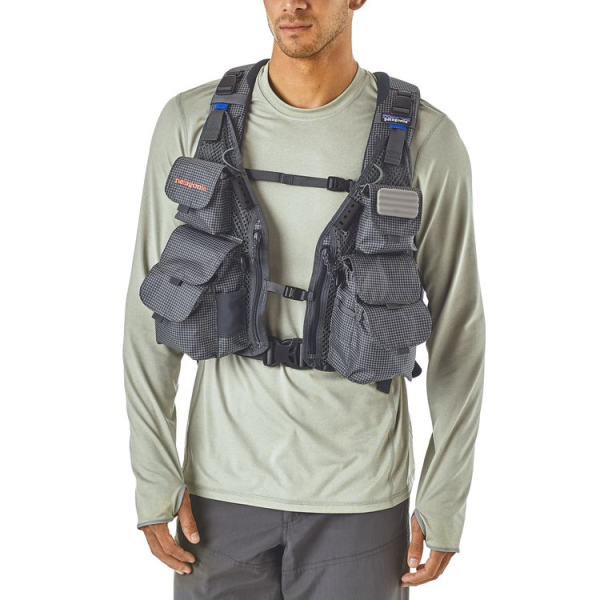Gray Patagonia Vest Backpack