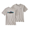 Patagonia Fitz Roy Trout Cotton T-Shirt SALE TGY
