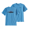 Patagonia Fitz Roy Trout Cotton T-Shirt SALE FLTB