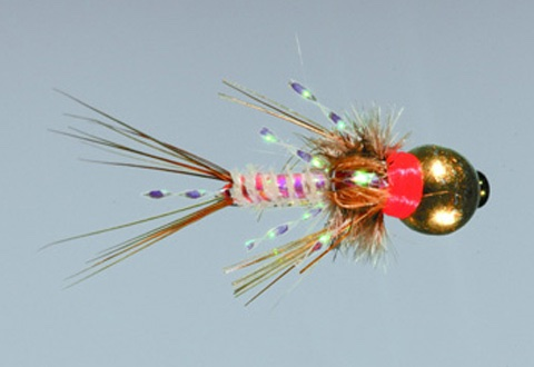 peep show trout fly
