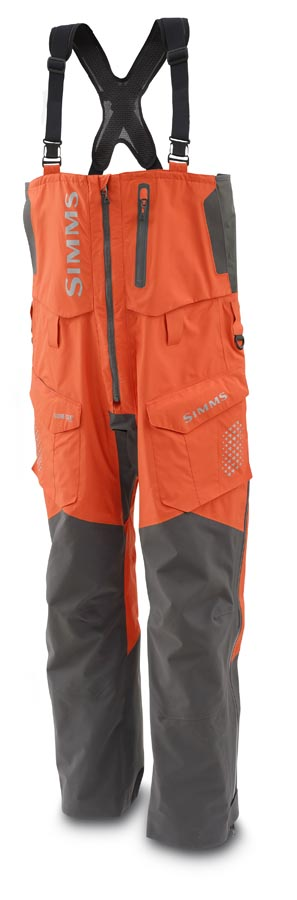 Simms ProDry Bib Fury Orange