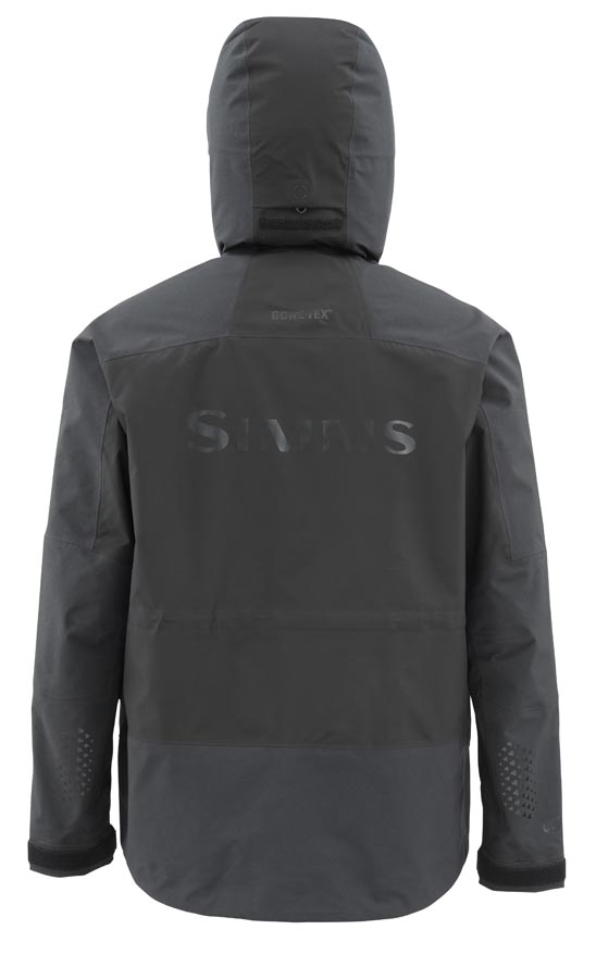 Simms ProDry Jacket Black Back