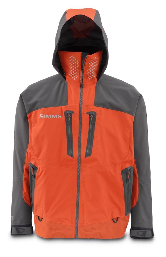 Simms ProDry Jacket Fury Orange