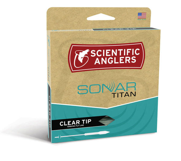 Scientific Anglers Sonar Titan Clear Tip Fly Line for Sale Online