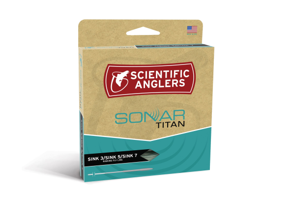 Scientific Anglers Sonar Titan Sink 3 Sink 5 Sink 7 Fly Line for Sale