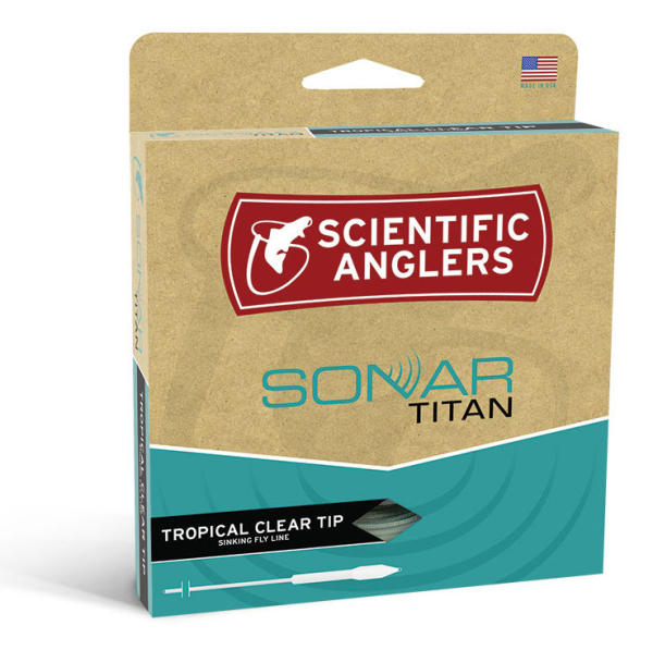 Scientific Anglers Sonar Titan Tropical Clear Tip Fly Line