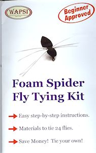 Wapsi Foam Spider Fly Tying Kit