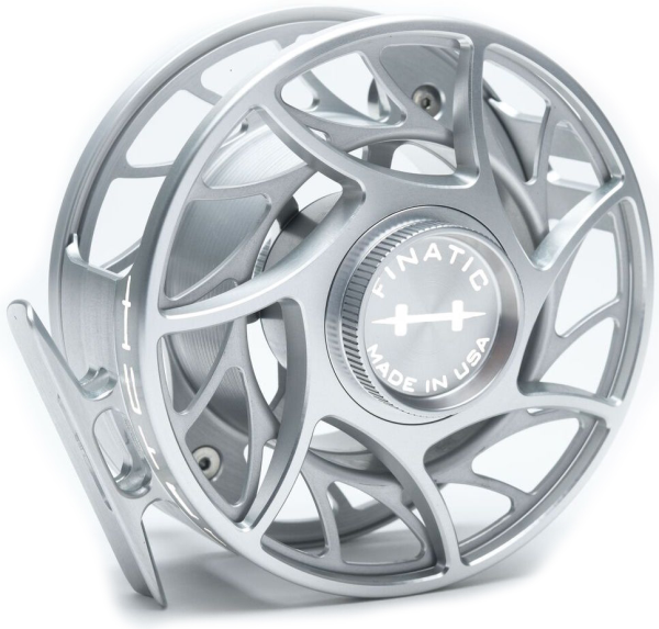 Hatch Custom Color Finatic Fly Reel Clear White