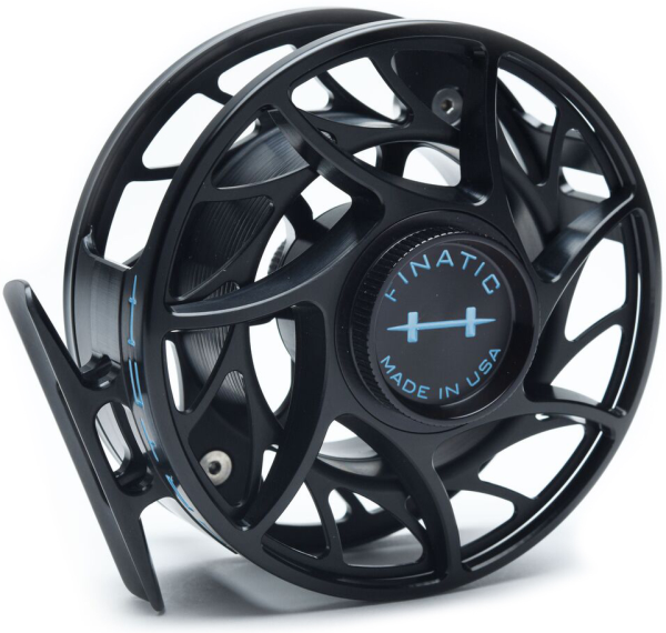 Hatch Custom Color Finatic Fly Reel Black Light Blue