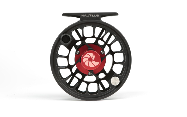 Black Nautilus X-Series fly fishing reel