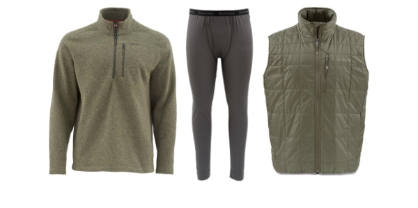 Fly Fishing Layering and Thermal Gear for Sale