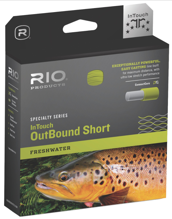 RIO InTouch Outbound Short Freshwater Int/Sink Type 6 Fly Line