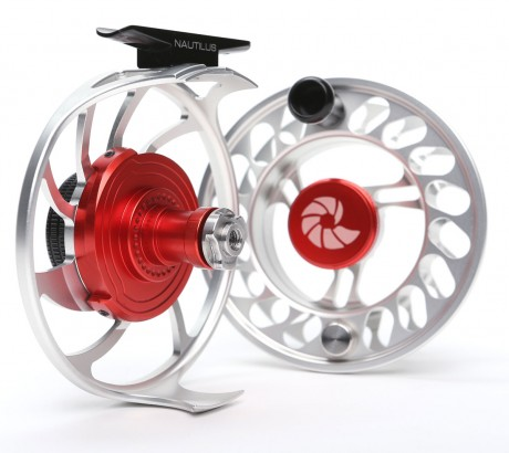 Nautilus CCF-X2 professional fly reel display