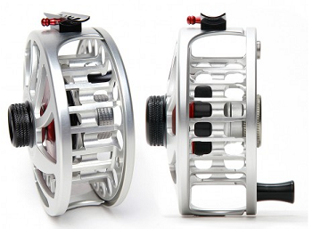 Open view of the Nautilus NV-G fly fishing reel