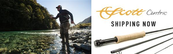 The Scott Centric Fly Rod is Available Now from The Fly Fishers