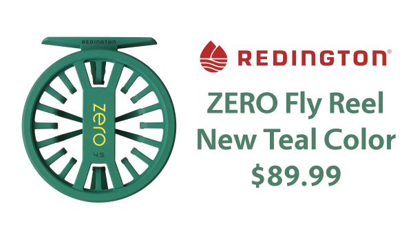 Redington ZERO Teal Color