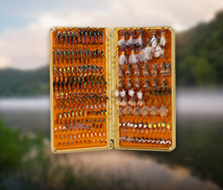Our inventory of fly boxes
