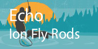Echo Ion Fly Rods