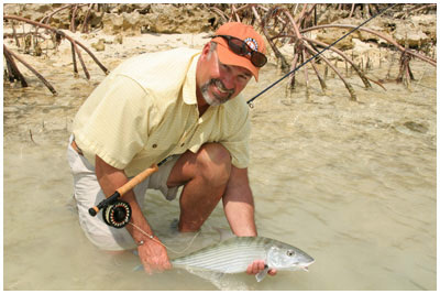 Salt Water BoneFish Fly Fishing with Pat Ehlers