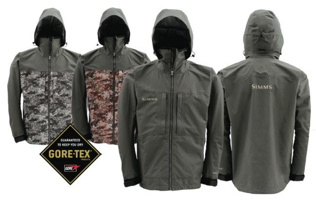 Simms contender gore tex jacket jackets rain gear for Fly fishing rain jacket