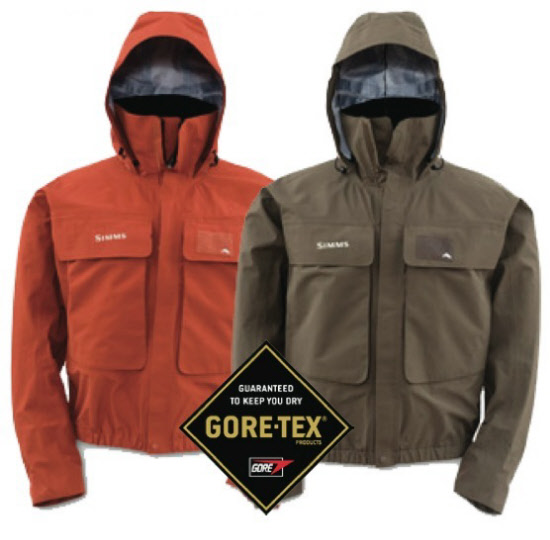 Simms guide jacket simms guide jacket fly fishing rain for Fly fishing rain jacket
